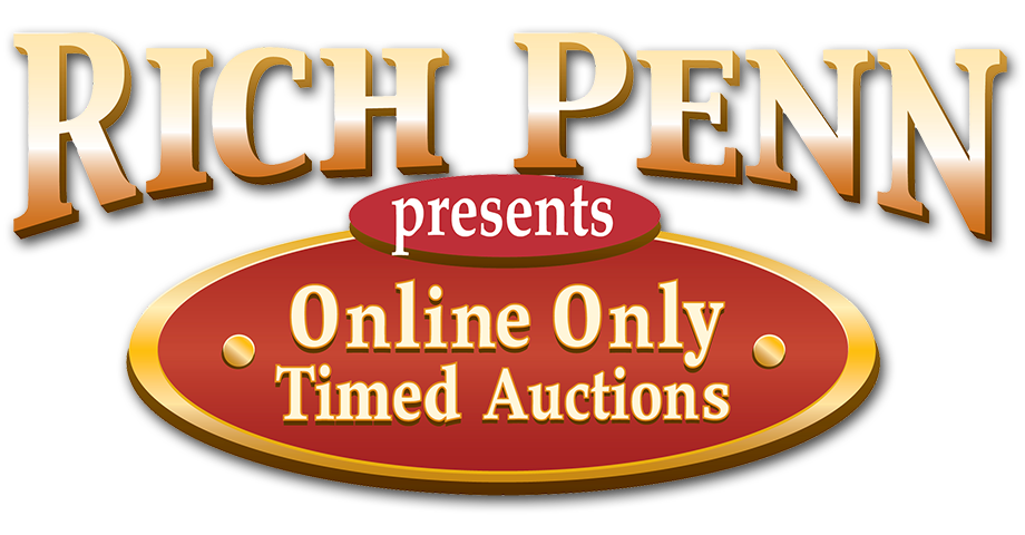 Rich Penn Auctions Logo
